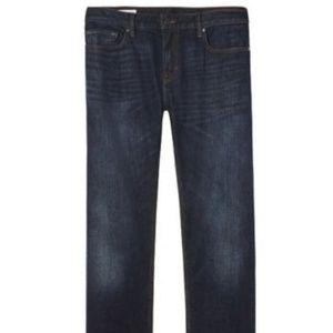 Banana Republic Straight Medium Wash Jeans 28/30